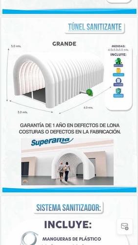 túnel satinizante
