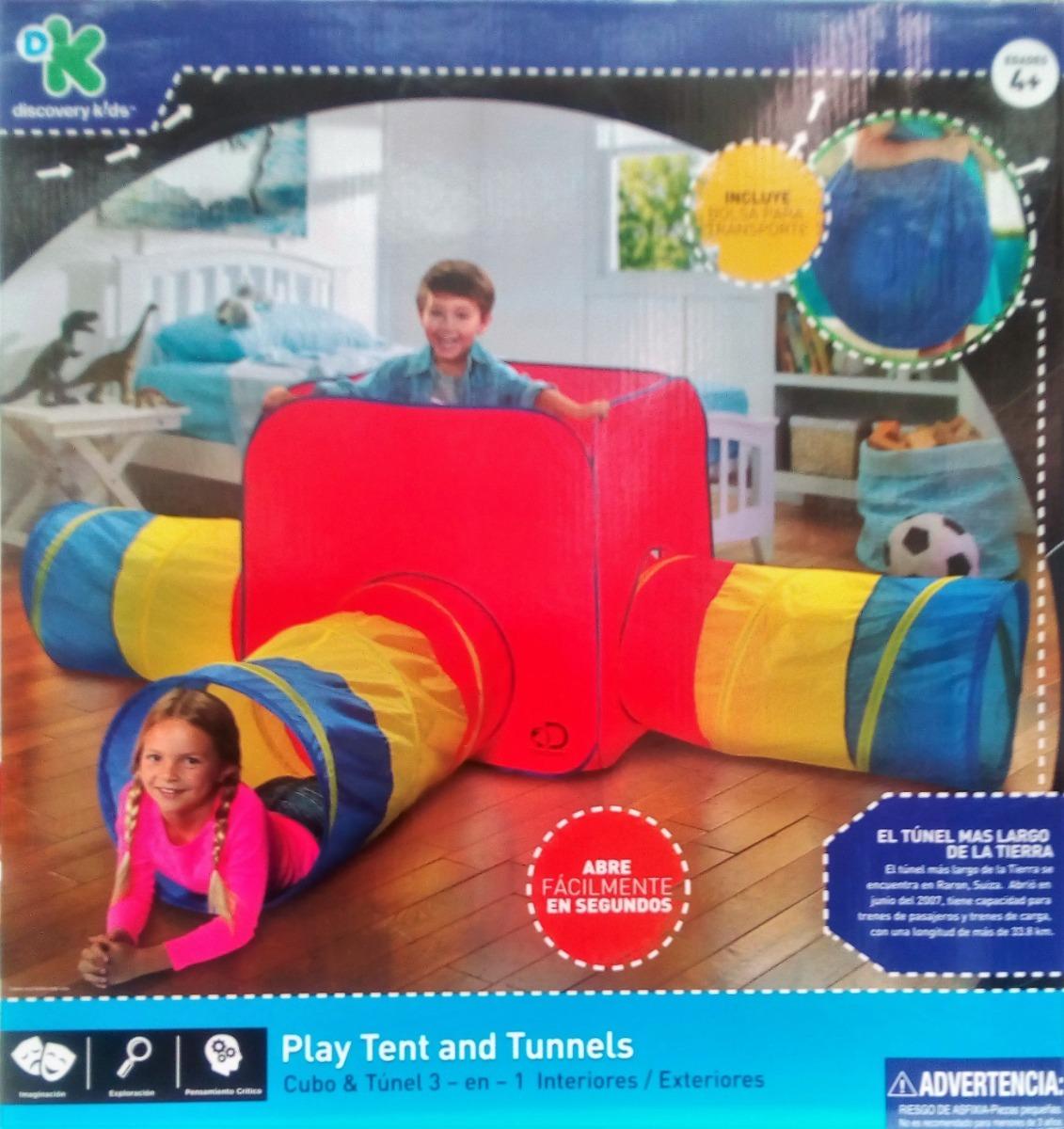 Tunel Y Cubo 3 En 1 Discovery Kids 1 199 00 En Mercado Libre
