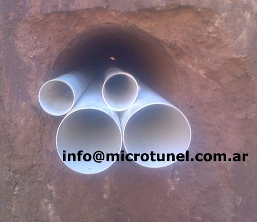 tunelera para cloaca agua gas tritubos y zanjeos  zanjero