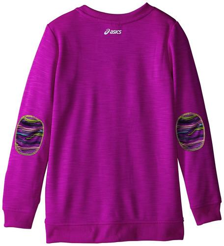 túnica acogedora de asics big girls, cactus púrpura, pequeña