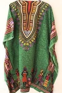 túnica caftán  mini vestido diseños africanos