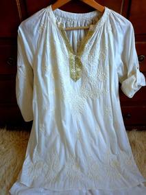a6c17864f Vestido Tipo Tunica Corto - Vestidos Cortos de Mujer Blanco en ...