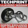 Llavero Tuning Nissan Aro + Llanta Sunny Sentra Primera Etc
