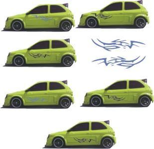 tuning  adhesivo auto/ca tribales x puerta viniloc/transfer