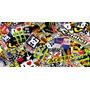 Planchas Sticker Bomb,motos,calcos,adhesivos,tuning