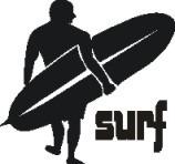 tuning (ploter) adesivo surf  oracal alemán x fondo claró.