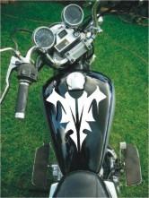 tuning (ploter) adhesivo tanque de moto excelente calidad