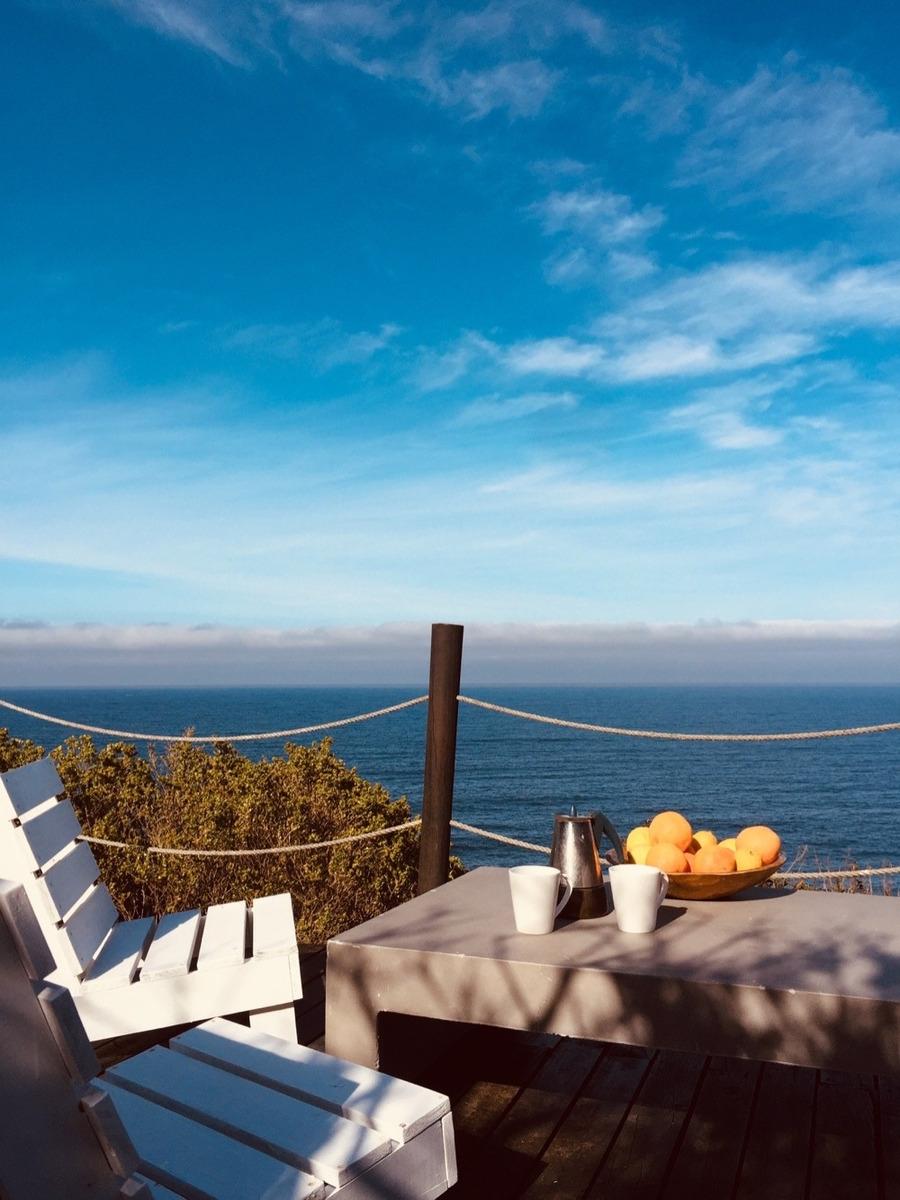 tunquen vista al mar pacific ocean desde todas habitaciones
