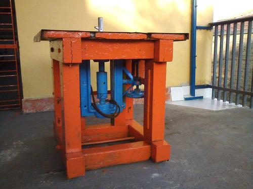tupia mesa (80x77cm) industrial para marcenaria