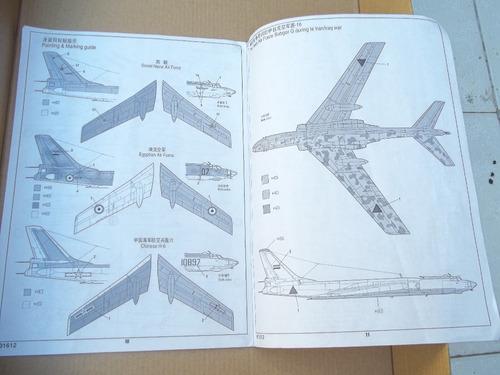 tupolev tu-16k-26 badger g/chinese h6 trumpeter 1/72