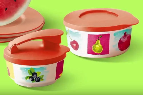 tupperware - bea ilúmina com jarra verão (5 peças)