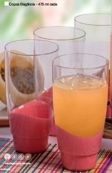 tupperware conjunto kit elegância 2 tigelas + 4 copos