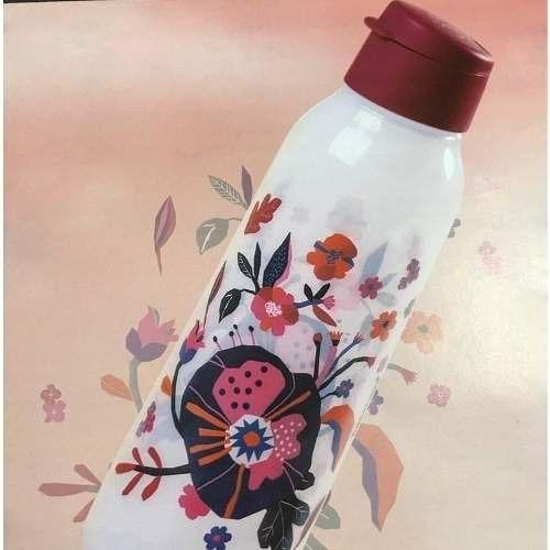 tupperware® - eco tupper floral 750ml flip academia