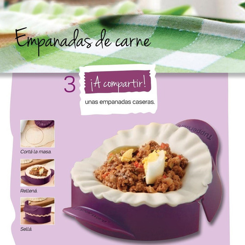 tupperware  practi empanada