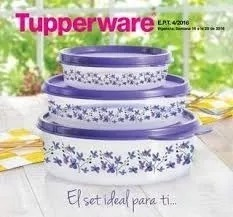 Tupperware Set Hermeticos Poeme X 3