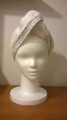 turbante de toalla para el pelo - regalo - día de la madre