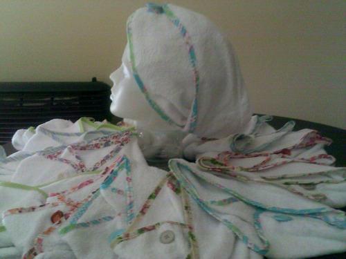 turbante de toalla-practica p/todos los largos cabello