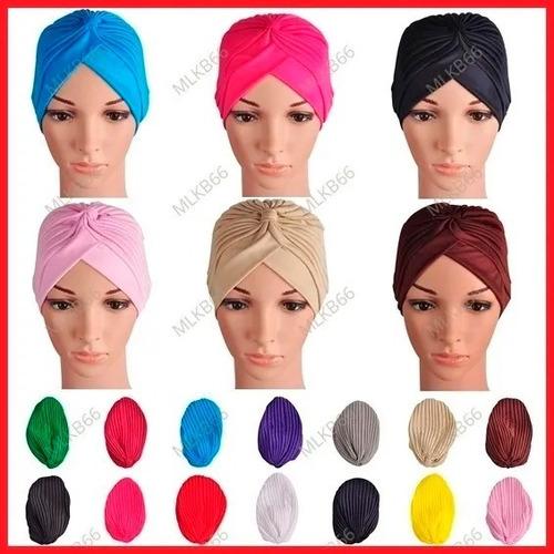 turbante diversas cores   touca   gorro   boina