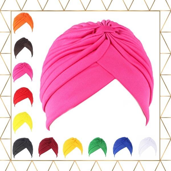 Turbante Feminino Colorido Ideal Para Quimioterapia Câncer - R  22 ... d49e2d22271