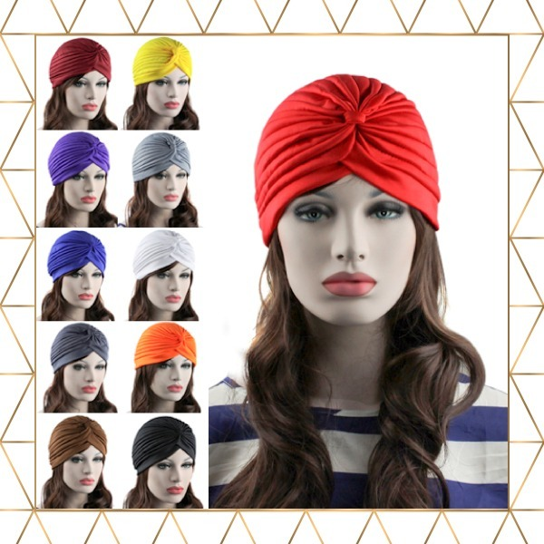 Turbante Moda Coloridos Ideal Para Quimioterapia Câncer - R  23 fab69278e43
