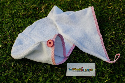 turbante toalla secar pelo regalo
