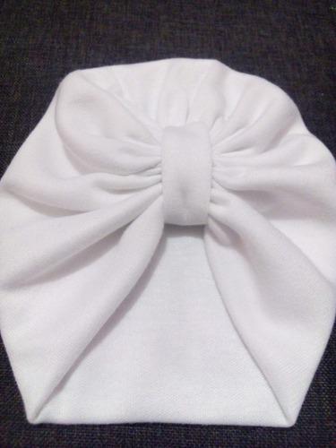 turbantes gorritos bebes 0-36 m. mayoreo moño headwraps