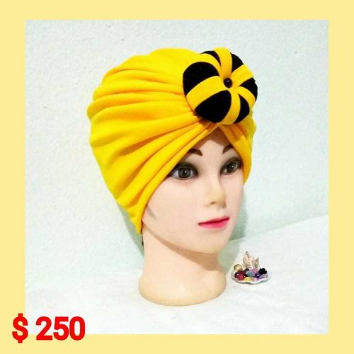 turbantes hermosos para mujeres y niñas