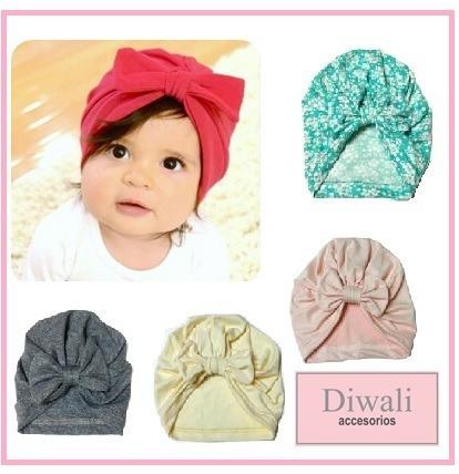 turbantes para bebes vincha