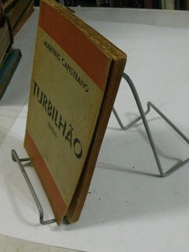 turbilhão - autografado - martins capistrano