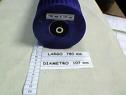 turbina centrifuga aire ac split 780 mm x 107 mm leer aviso.