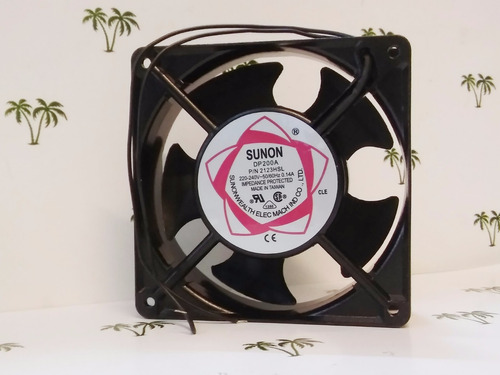 turbina cooler fan extractor 220 v  4  120mm - olivos grow
