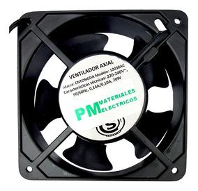 Turbina Cooler Fan Extractor 220v Buje 4 Pulgadas 12cm Metal