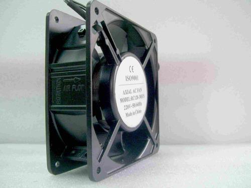 turbina cooler fan ventilador 120x120mm 220vca 2800 rpm buje