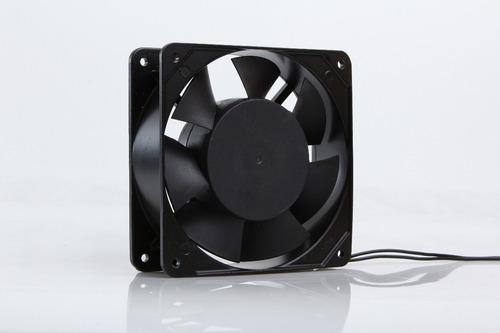 turbina cooler metalico con buje 4 pulgada 120x120x38mm 220v