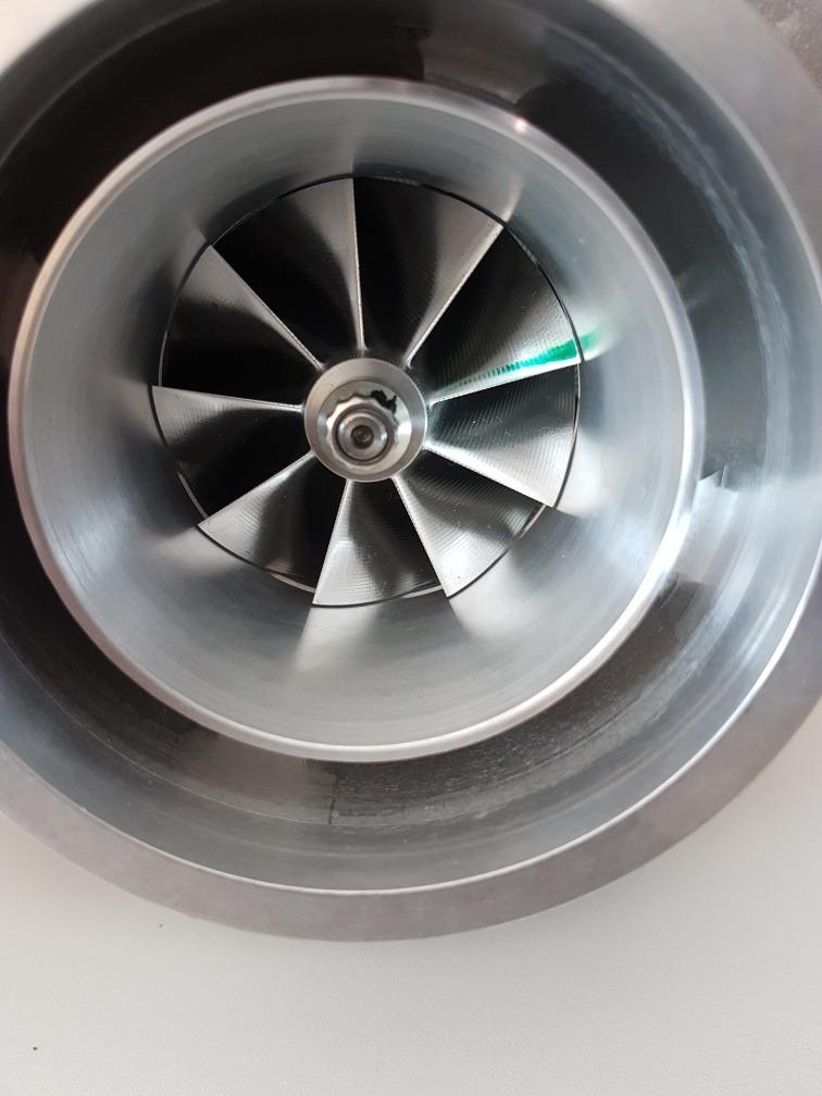 Turbina Garrett Gtx3076r Gen 2 750hp Com Caixa Quente
