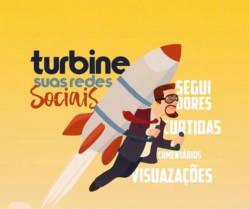 turbina sua rede social