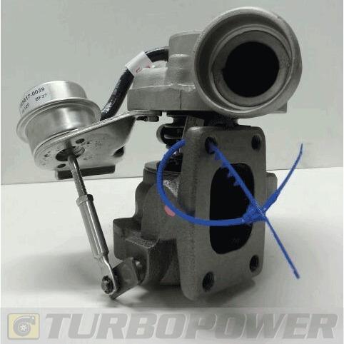 turbo chevrolet s10/sprinter 310 maxion 2.5 original garrett