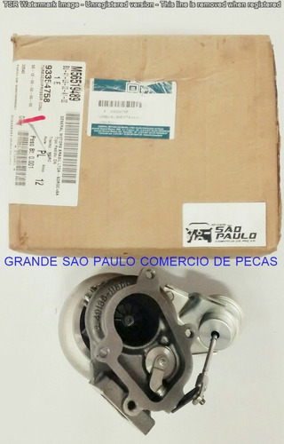 turbo compressor cj gm s10/blazer 2.8 2000/ p/n 93354758