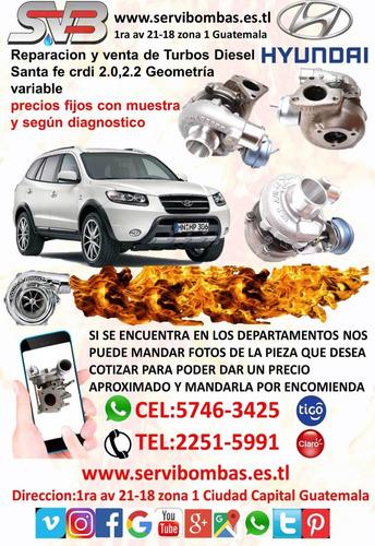 turbo diesel hyundai h1 2.5 crdi d4cb 140hp guatemala