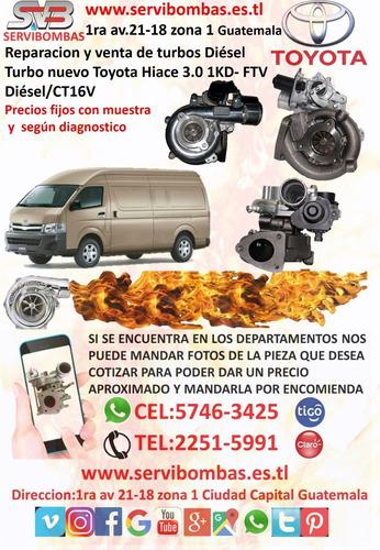 turbo diesel  toyota land cruiser 2.4 2l / ct20 guatemala