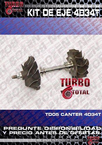 turbo kit de eje mitsubishi canter 659 td05 4d34 49178-02155