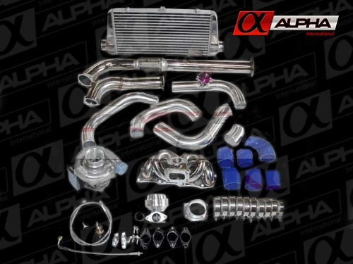 Turbo Kit Nissan 240sx 91-94 Kka24de T3/t4 Rev9 Power