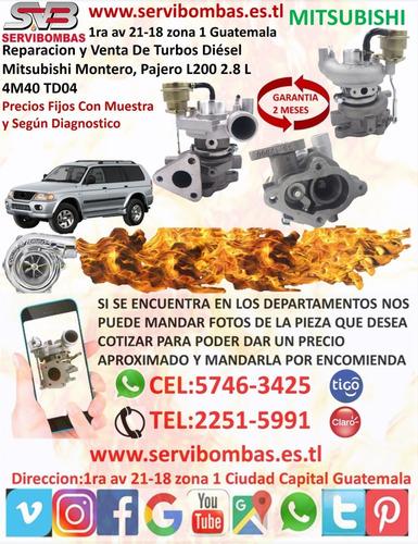 turbo mitsubishi l200 4d56 2.5,td04 /tf035 en guatemala