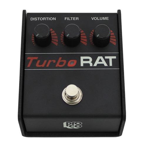 turbo rat pedal distorsion guitarra electrica impecable !
