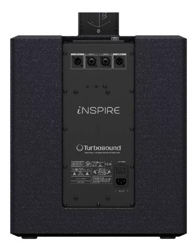 turbo sound line vertical ativo 1000w 16x2,75 + sub12 ip2000