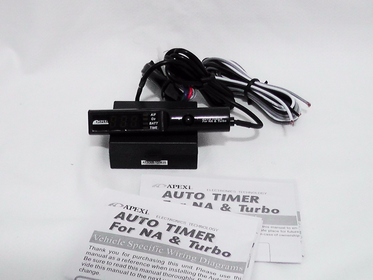 Perfect Apexi Auto Timer For Na & Turbo Inspiration - Electrical and ...