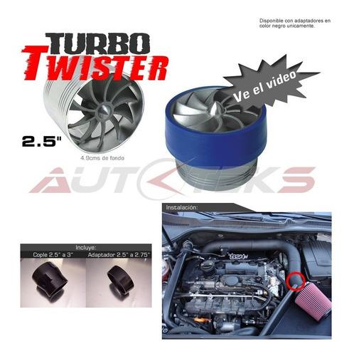 turbo twister aspas giratorias inducción aire tornado ahorra