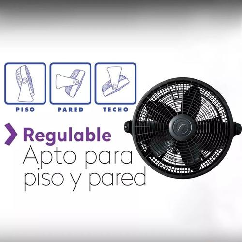 turbo ventilador 12 nacional piso pared ¡ garantia 2 años !