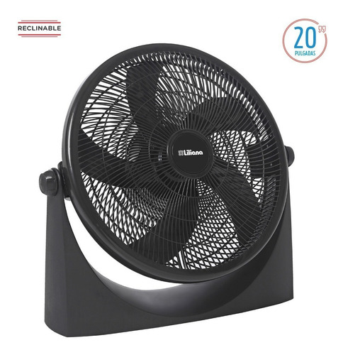 turbo ventilador liliana vvtf20p 90w 20 pulg. center hogar