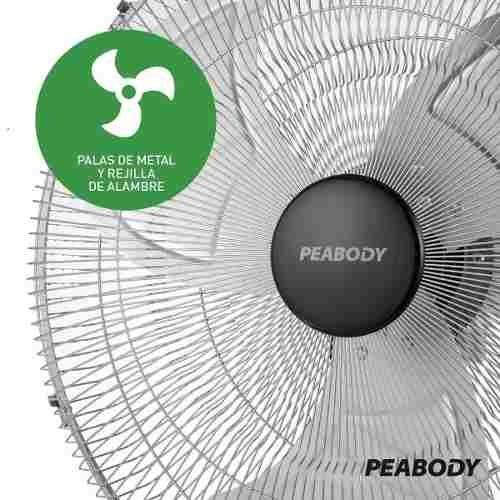 turbo ventilador peabody 20 130 watts vp 150 soundgroup